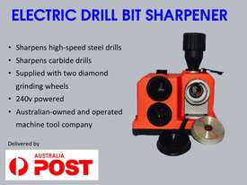 3mm to 13mm Drill Sharpener With Spare Grinding Wheel Free Delivery in Australia - picture0' - Click to enlarge