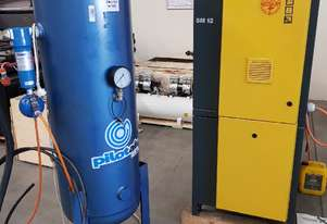 VERTICAL / HORIZONTAL AIR RECEIVER TANKS - 216/500/900 Litres from $350