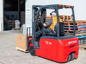 New Nichiyu Electric 3 Wheel Counterbalance Forklift - picture3' - Click to enlarge