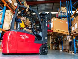 New Nichiyu Electric 3 Wheel Counterbalance Forklift - picture2' - Click to enlarge