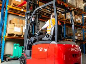 New Nichiyu Electric 3 Wheel Counterbalance Forklift - picture0' - Click to enlarge