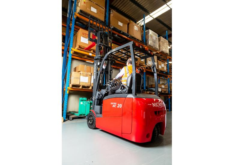 New Nichiyu Electric 3 Wheel Counterbalance Forklift