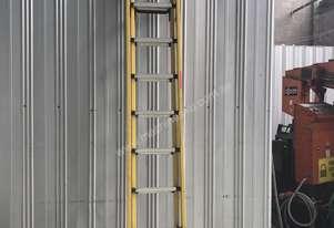 Branach Fiberglass & Aluminum Extension Ladder 3.3 to 5.2 Meter Industrial Quality