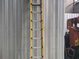 Branach Fiberglass & Aluminum Extension Ladder 3.3 to 5.2 Meter Industrial Quality - picture0' - Click to enlarge