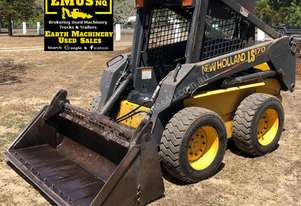 New Holland LS170 Skid steer only 1700hrs. EMUS NQ