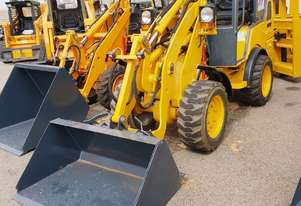 UNUSED HT35J Articulated Mini Wheel Loader with Perkins Engine complete with GP Bucket & Pallet Fork