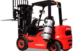 HYWORTH 2.5T Gas Forklift FOR SALE