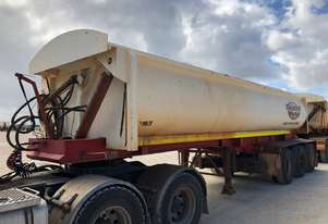 2010 ACTION TRAILERS AYQSY - TRI435 SIDE TIPPER