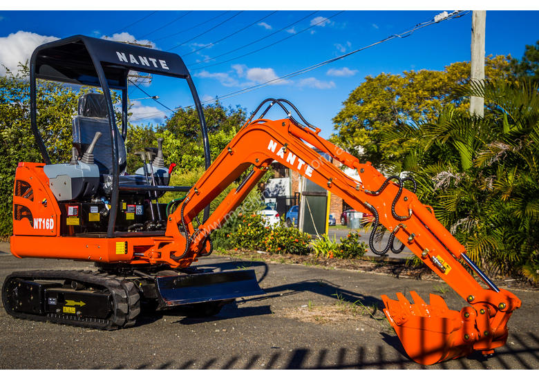 Nante 1 7T Excavator With Boom Swing Extendable Tracks And Pilot Control
