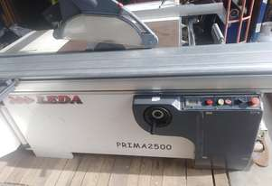 Leda prima 2500 panel saw table saw