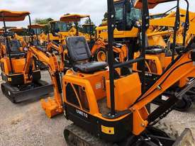 2019 UHI MACHINERY MINI EXCAVATOR UME10 950KG WITH 6 BUCKETS - picture1' - Click to enlarge