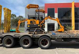 2019 UHI MACHINERY MINI EXCAVATOR UME10 950KG WITH 6 BUCKETS