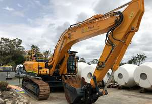 Near new Condition 33T ROBEX320LC-9 less than 190hrs Cesco Deep Foundation Equipment