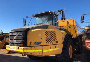 2007 Volvo A40E Articulated Water Truck