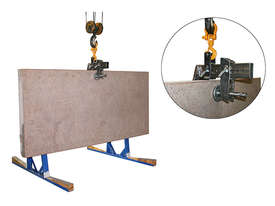 Monument/Slab lifter for lifting & handling heavy masonry slabs - picture3' - Click to enlarge