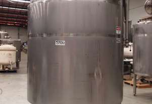 Stainless Steel Jacketed Mixing Tank, Capacity: 4,500Lt