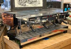 LA MARZOCCO LINEA CLASSIC 4 GROUP COPPER TOP ESPRESSO COFFEE MACHINE