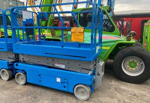 2 GS-2046 Scissor Lifts with option to buy as is or pay additional for a rebuild