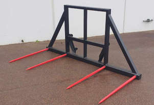 4 Spear Double Round Hay Forks - Excess Stock