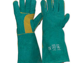 LEATHER WELDING GAUNTLET - WELDERS SAFETY GLOVES - picture0' - Click to enlarge