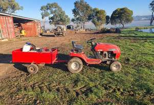 Mtd Mobile weed and spray unit