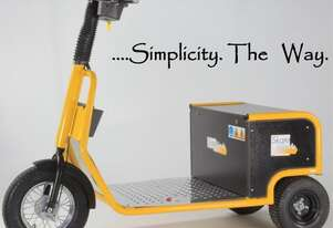 Battery Electric Stand-On Utility Vehicle, 3 Wheel, 800W / 24V