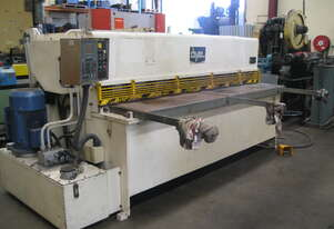 Dye 2500mm x 6mm Hydraulic Guillotine with Pneumatic Sheet Supports