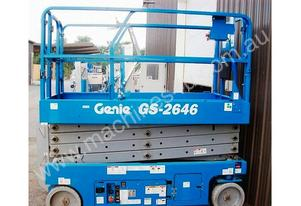 Genie GS2646 26 foot 1.2 m Wide Scissor Lift