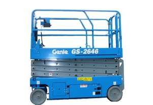 Genie GS2646 26 foot Electric Scissor Lift