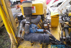 silenced 30hp hydralic power pack ,