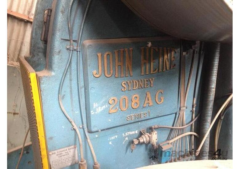 USED - John Heine - Press - 208AG S1