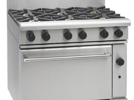 Waldorf Six Burner Gas Oven Range