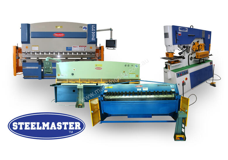 PANBRAKES, GUILLOTINES, PRESSBRAKES & PUNCH-SHEARS