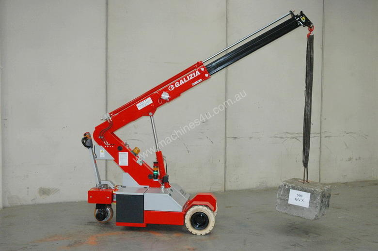 2012 GALIZIA G20 MINI CRAWLER CRANE