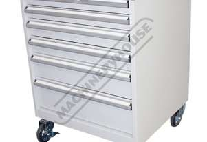 TCW-954W Industrial Mobile Tooling Cabinet 723 x 653 x 954mm 100kg per Drawer