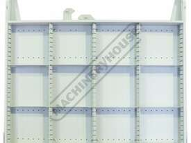 TCW-954W Industrial Mobile Tooling Cabinet 723 x 653 x 954mm 100kg per Drawer - picture5' - Click to enlarge