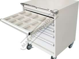 TCW-954W Industrial Mobile Tooling Cabinet 723 x 653 x 954mm 100kg per Drawer - picture16' - Click to enlarge