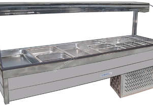 Roband CRX26RD Curved Glass Refrigerated Display