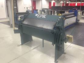 EPIC 1250 x 2mm Manual Pan Brake - picture5' - Click to enlarge