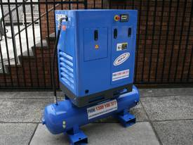 5.5hp / 4kW Tank Mounted Screw Air Compressor - picture0' - Click to enlarge