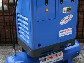5.5hp / 4kW Tank Mounted Screw Air Compressor - picture6' - Click to enlarge