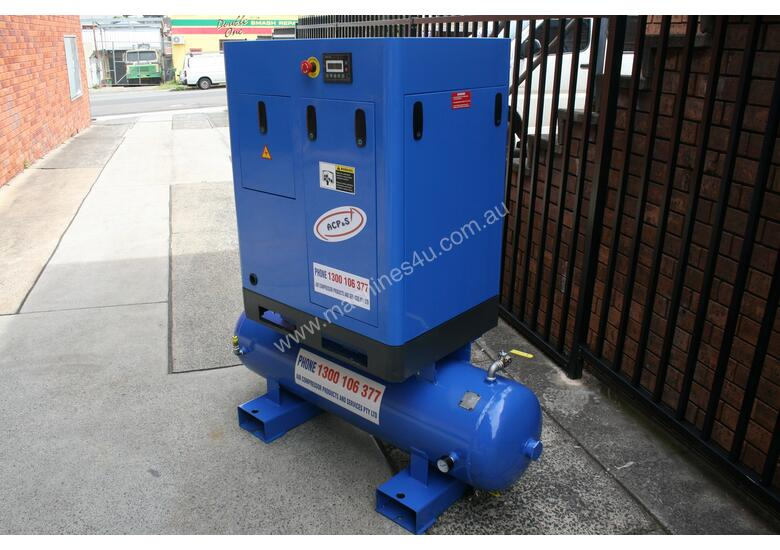 5.5hp / 4kW Tank Mounted Screw Air Compressor