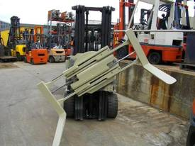 Hire forklift with rotator - picture2' - Click to enlarge