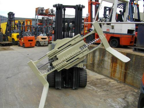 Hire forklift with rotator
