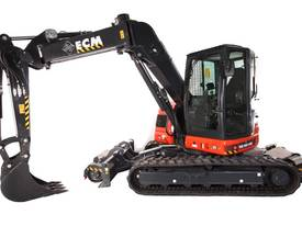 2019 ECM ES95HR HY-RAIL Tracked EXCAVATOR - picture2' - Click to enlarge