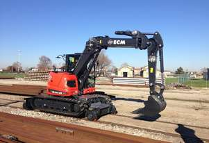 2018 ECM ES95HR HY-RAIL Tracked EXCAVATOR