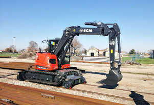 2019 ECM ES95HR HY-RAIL Tracked EXCAVATOR