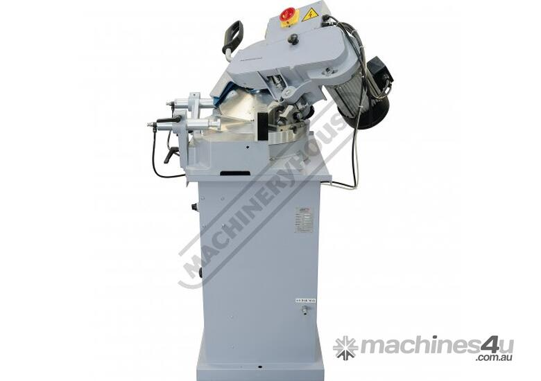 ALU-350 Non-Ferrous Metal Cutting Saw - Swivel & Compound Head 350mm Blade Adjustable Twin Material