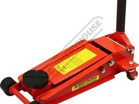 ARMM901QL Professional Quick Lift Hydraulic Trolley Jack - Steel 2500kg (2.5 Tonne) Double Lift Pump - picture3' - Click to enlarge