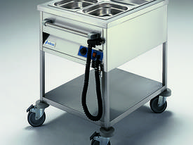 Edesa 820mm Wide Bain Marie Trolley